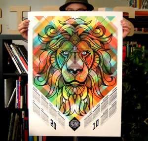 Though not the most functional, this awesome lion calendar was one of the most unique designs we've seen.