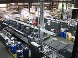 Offset printing is Lincoln's specialty, and their 30,000 square foot pressroom is where the magic happens.
